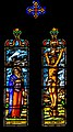 Stained-glass window of Notre-Dame collegiate church of Villefranche-de-Rouergue 02.jpg
