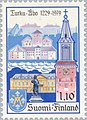 Stamp of Finland - 1979 - Colnect 46873 - Turku Åbo townscape - coat of arms.jpeg