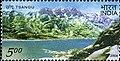 Stamp of India - 2006 - Colnect 158996 - Himalayan Lakes - Tsangu.jpeg