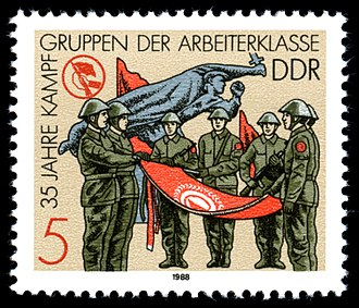"""Combat Groups of the Working Class - Swearing of the """"Kampftruppe"""""""