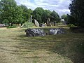 Standing stones on the roundabout - geograph.org.uk - 1997538.jpg