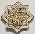 Star tile from Iran, Ilkhanid period, Honolulu Museum of Art IV.JPG