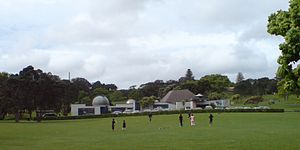 Stardome Observatory - The Stardome Observatory from the southwest