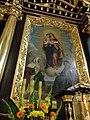Stary Wiśnicz - Kościół św. Wojciecha, glówna nastawa ołtarzowa, obraz AL01.jpg