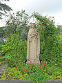 Statue 2 in the park of the Franciscan nuns convent, Belair, Luxembourg, June 2012.jpg