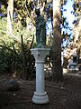 Statue in Mount of Beatitudes church.jpg