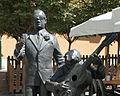 Statue of Porrina de Badajoz at Plaza de la Soledad - 101-1 zoom.jpg