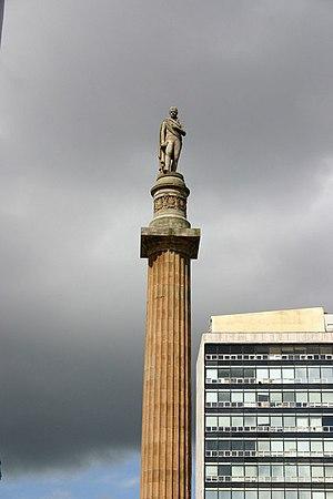 Statue of Sir Walter Scott