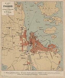 madlaleiren kart Stavanger – Wikipedia madlaleiren kart