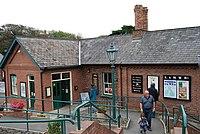 Steam railway at Tywyn - geograph.org.uk - 1513158.jpg