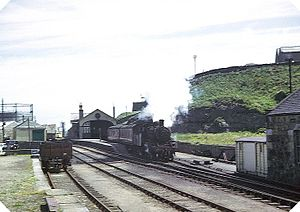 Great North of Scotland Railway - Banff station in 1964