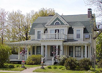 National Register of Historic Places listings in Barron County, Wisconsin - Image: Stebbins House