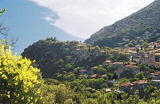 Stemnitsa - Image: Stemnitsa Arkadia Peloponnese