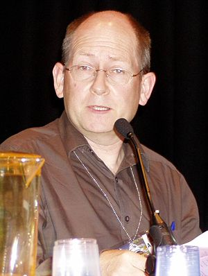 Stephen Baxter (author) - Stephen Baxter at the 63rd World Science Fiction Convention, 2005.