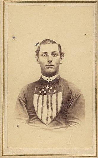 Steve King (baseball) - King in 1866