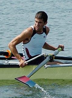 Steve Warner American rower