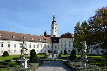 St. John's courtyard of Altenburg Abbey, Lower Austria