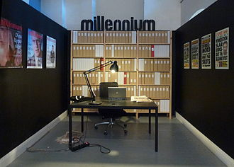 Millennium (novel series) - The Millennium Exhibition at the Stockholm City Museum