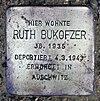 Stolperstein Bornepfad 4 (Hermd) Ruth Bukofzer.jpg