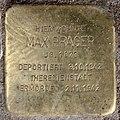 Stolperstein Detmolder Str 3 (Wilmd) Max Prager.jpg