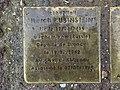 Stolperstein Herch Rubinstein 31 rue Cuvier Fontenay Bois 1.jpg