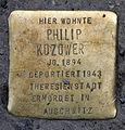 Stolperstein Oranienburger Str 9-10 (Mitte) Philip Kozower.jpg