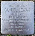 Stolperstein Solingen Westwall 12 Samuel Lewak.jpg