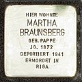 Stolperstein Verden - Martha Braunsberg (1872).jpg