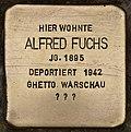 Stolperstein für Alfred Fuchs (Cottbus).jpg