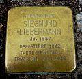 Stolperstein für Siegmund Liebermann in Neu-Ulm.JPG