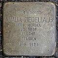 Stumbling block for Amalia Ziegellaub (Thieboldsgasse 102)
