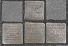 Stolpersteine für Rita, Max, Miriam und Regina Aschkenazy