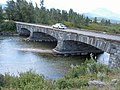 """Stone bridge, Going-to-the-sun Road Note, This bridge was featured on the movie """"Forrest Gump"""" - panoramio.jpg"""