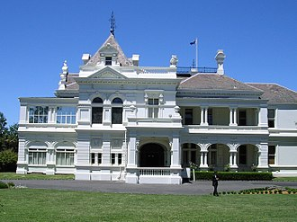 City of Stonnington - Stonington mansion after which the City of Stonnington was named