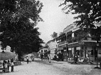 Pyay - Strand Road in 1910.