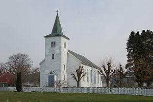 Strand, Norway - View of Strand Church