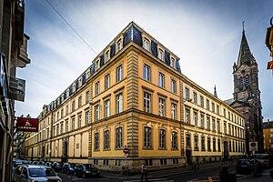 Jean Sturm Gymnasium - The Gymnase Jean-Sturm.