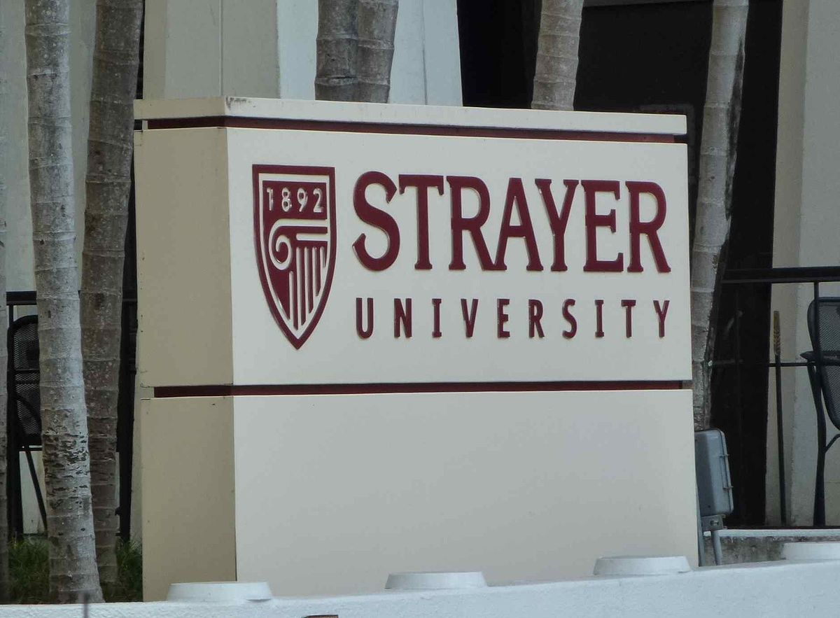 strayer university This business is not bbb accredited online education in herndon, va see business rating, customer reviews, contact information and more.