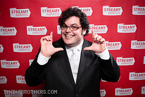 Josh Gad - Gad at the 2010 Streamy Awards