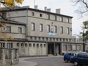 Strzelce Opolskie railway station - Image: Strzelce Opolskie, dworzec kolejowy (1)