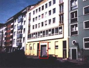 Kling Klang Studio - The original site of Kraftwerk's Kling Klang Studio in Düsseldorf.