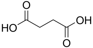 Dicarboxylic acid - Image: Succinic acid