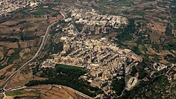 Mtarfa from the air