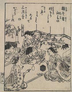 image of Nishikawa Sukenobu from wikipedia