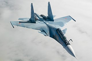 Sukhoi Su-30 multi-role combat aircraft version of the Su-30 fighter aircraft