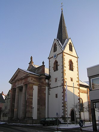 Sulzbach am Main - Image: Sulzbach Kirche