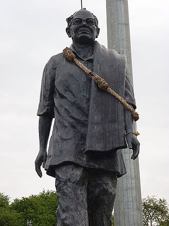 Puchalapalli Sundarayya - Statue of Sundarayya in Hyderabad, Telangana.