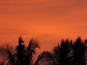 Avadi - Image: Sunset avadi