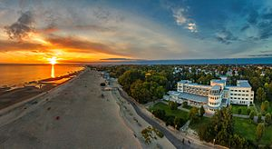 Sunset in Pärnu beach (1).jpg
