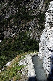 Baltschieder Place in Valais, Switzerland